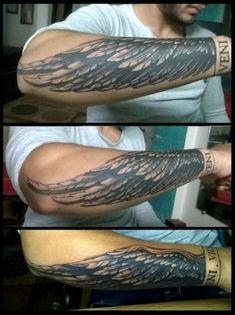 Engel Tattoo Studio Flügel Tattoo Design Indore wingtattoo singlewingtattoo a . Engel Tattoo Studio Flügel Tattoo Design Indore wingtattoo singlewingtattoo a . Chinese Tattoo Designs, Wing Tattoo Designs, Tattoo Designs For Girls, Tattoo Sleeve Designs, Forearm Wing Tattoo, Forearm Band Tattoos, Tattoo Arm Frau, Tattoo Wings, Tattoo Arrow