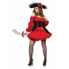 Disfraz Jovencita Pirata