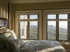 Imagine waking up a view of the Atlantic every day!  Bedroom windows at 5144 Sea Forest Drive's vacation home villa (available for sale as of 04.25.16) on #Kiawah Island #LuxuryRealEstate