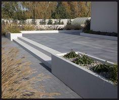 Back Garden Design, Backyard Plan, Back Gardens, Sidewalk, New Homes, Home And Garden, Construction, Outdoor Decor, House