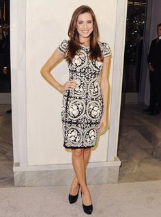 Allison Williams Wearing Naeem Khan   Tom Ford Cocktails In Support Of Project Angel Food