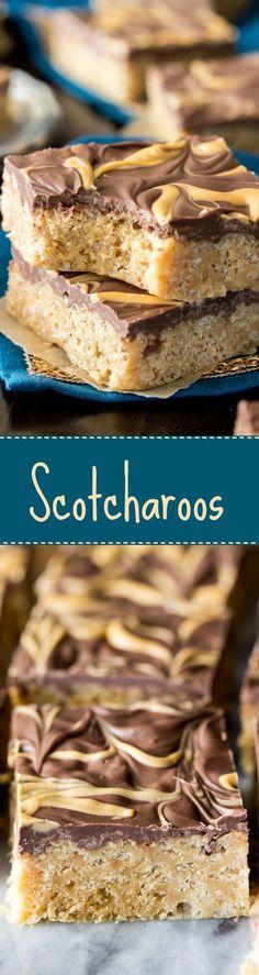 Scotcharoos via @sugarsunrun