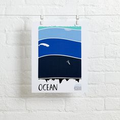 Earth Science Wall Art (Ocean)   The Land of Nod