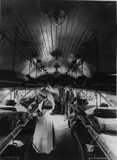 Hospital Train of WWI