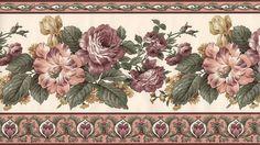 Victorian Kitchen Wallpaper Wall Border