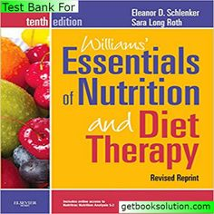 doctor: Test Bank For Williams' Essentials of Nutrition an...