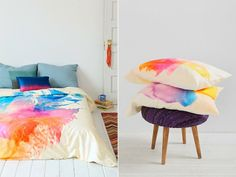Tie Dye For Duvets And Pillowcases