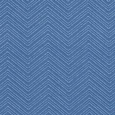 Caribbean Blue Large Chevron Brocade Jacquard Upholstery Fabric