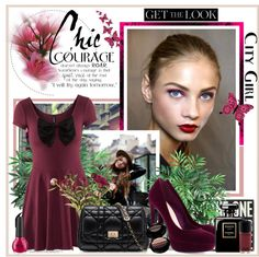 """""""Courage doesn't always roar. Sometimes courage is that quiet voice at..."""" by fashiontake-out on Polyvore"""