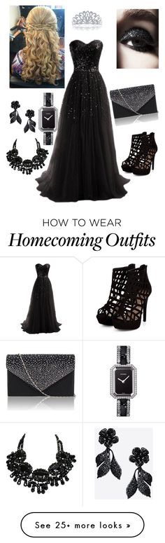 """prom like a princess"" by kenzie-covet on Polyvore featuring Bling Jewelry, Chanel, Swarovski, Valentino, women's clothing, women's fashion, women, female, woman and misses"