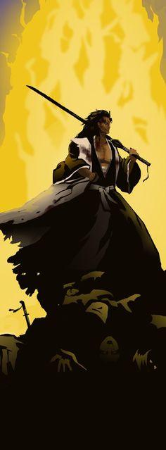A Sword with No Name by Pilgrimwanders on DeviantArt Bleach Art, Bleach Anime, Bleach Characters, Fictional Characters, Kenpachi Zaraki, Black Clover Anime, No Name, Manga Anime, Batman