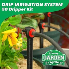 Drip Irrigation System - 50 Dripper | Easy Garden Irrigation