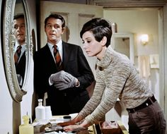Wait Until Dark (1967) - Richard Crenna & Audrey Hepburn Audrey Hepburn Movies, Audrey Hepburn Born, Golden Age Of Hollywood, Vintage Hollywood, Hollywood Images, Classic Hollywood, My Fair Lady, British Actresses, Classic Actresses