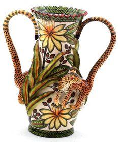 Ardmore Ceramics: Leopard Vase