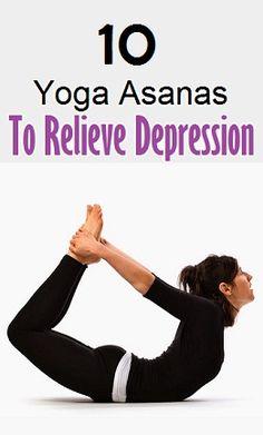 Top 10 Yoga Asanas to Relieve Depression..