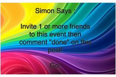 Scented Wax Warmer, Facebook Party, Simon Says, Scentsy, Invitations, Sayings, Lyrics, Save The Date Invitations, Shower Invitation