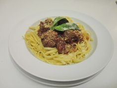 Italian meatballs with Linguini up on the blog.  Thiswomansstyle.com