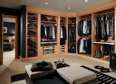 My man's closet