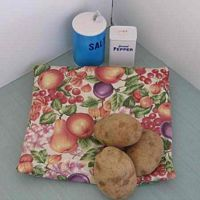 Peachy Fruit Tater Baker Bag for Microwave