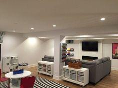 awesome 63 Stunning Basement Playroom Decorating Ideas  https://decoralink.com/2018/02/22/63-stunning-basement-playroom-decorating-ideas/