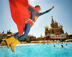 """Reiner Riedler, Fake Holidays, """"Superman Over Red Square"""", Turquie, 2006"""