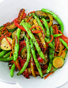 Recipe For 4 New Ways To Prepare Green Beans That You Never Thought Of...of course, I'm the only one that will eat them!