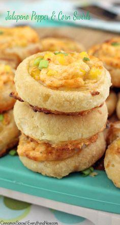 Jalapeño Popper & Corn Swirls