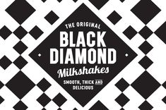 Black Diamond - Buddy Creative -Coffee Man (the guys behind the brand) wanted to create a new-to-market milkshake brand that would specifically target the highly