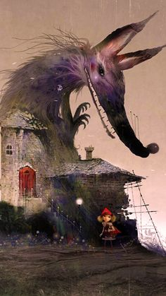"""Little Red Riding"" by Hood Jamsan"
