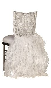 ahhhhh.....here*s what to do with your wedding dress...the chair can be in your bedroom so you can see it all the time.. great idea folks...(or favorite dress).  :-))