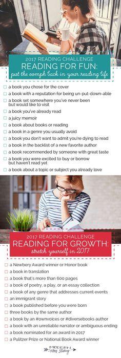 The 2017 Reading Challenge