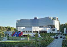 Sheraton hotel at Tirana, Albania