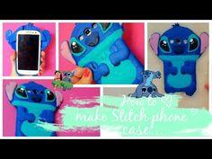 DIY. Stitch phone case tutorial! - YouTube