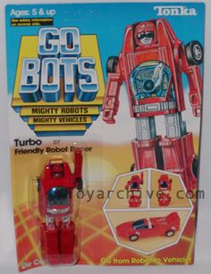 """GOBOTS...also known as """"Transformers for poor kids""""."""