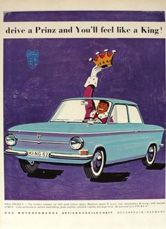 Vintage ads for cars are always a fun accent for a man cave.