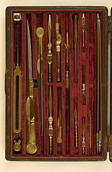 Reißzeug – Wikipedia Drafting Tools, Instruments, Lotion For Dry Skin, Antique Tools, Tool Design, Face And Body, Leather Craft, Art Sketches, Museum