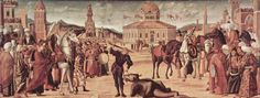 1501-1507 The Triumph of St. George - Vittore Carpaccio