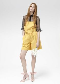 Carven Time Travels To Swinging London for Resort, Unveils New Collaboration { via fashionista }