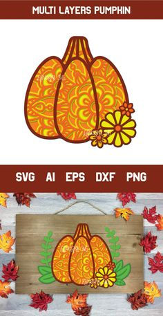 3D Layered Pumpkin SVG | Fall Multi Layer| Autumn Cut File #multilayer #pumpkinsvg #layered #zentanglesvg #cutfile #3d #svg #halloweensvg #fallsvg #thanksgivingsvg 3d Files, Autumn Leaves Craft, 3d Craft, Leaf Crafts, Pumpkin Crafts, Vinyl Cutting, Thanksgiving Crafts, Fall Pumpkins, Journal Cards