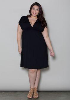 Plus Size Dresses | April Dress | Swakdesigns.com #swakdesigns