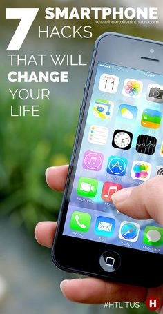 With smartphones being a huge part of our lives, there are a few hacks we should all just know about. We made a list of 7 incredibly awesome smartphone hacks that you can't live without. www.howtoliveinth...