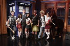 The Late Late Show: Ready. Set. Scotland! (via TARDIS!)