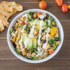 Spicy Quinoa Taco Bowl Recipe