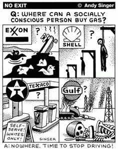 Andy Singer corporate social responsibility cartoon TNCs