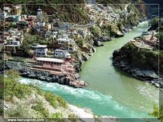 Devprayag is a small town situated in the Tehri District of Uttarakhand. Situated at the confluence of River Alaknanda and River Bhagirathi, Devprayag is a popular pilgrimage destination of Hindus. Located en-route to Badrinath from Rishikesh, the destination lies at an average altitude of 472 meters above sea level, at a distance of about 75 km away from Rishikesh.  Devprayag, which means 'Holy Confluence' in Sanskrit, was named after a Hindu ascetic, sage Devsharma.