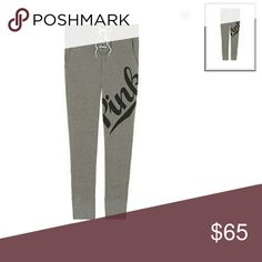 """🌟NWT🌟 PINK VS LACE UP SKINNY COLLEGIATE PANTS Still in online packaging which is the tag.... Lace up at the waist... Flat elastic waist band w drawstring...27"""" inseam...Sits on hip...Side pockets...Cuffed bottom... Feel free to ask any questions... ✅Make an offer through OFFER button ONLY ✅Negotiations welcome ❌No trades ✴Bundles encouraged✴ 🎀Check out my other PINK VS listings🎀 PINK Victoria's Secret Pants"""