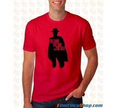 Camiseta El bueno, el feo y el malo http://filmfilicoshop.com/es/camisetas-cine/61-camiseta-el-bueno-el-feo-y-el-malo.html