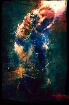 print on steel Movies & TV twd rick grimes the walking dead illustration cool colors