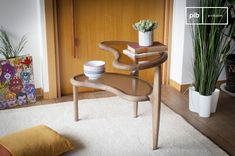 Double Bean Side Table
