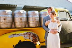 Sam   Spencer // A Good People Brewery Wedding